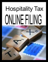 File your 2% restaurant, amusement and lodging taxes here