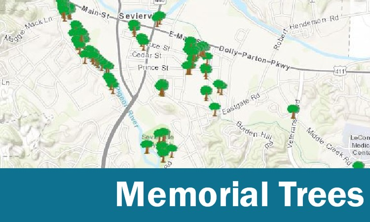 City of Sevierville Map Gallery