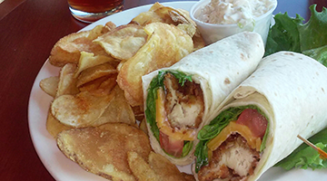 chicken tender wrap 360