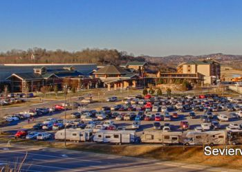 Parking at Sevierville Convention Center